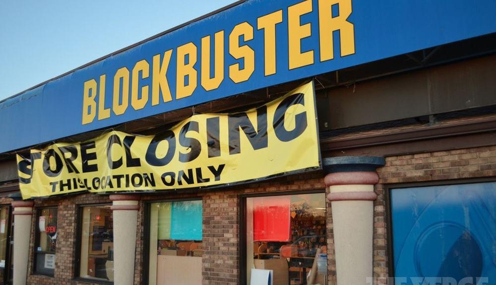 blockbuster chiuso