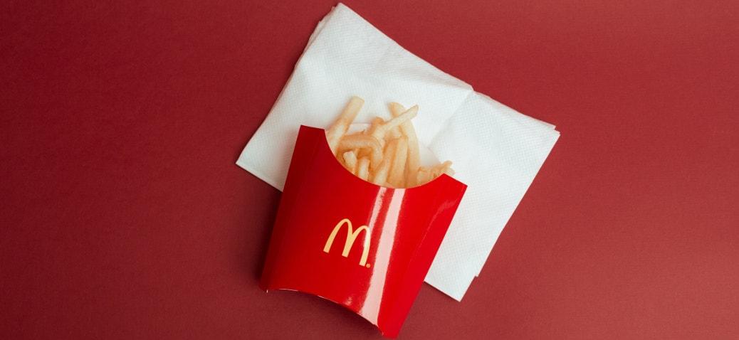 mcdonald patatine fritte