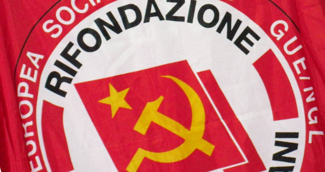 rifondazione comunista bandiera