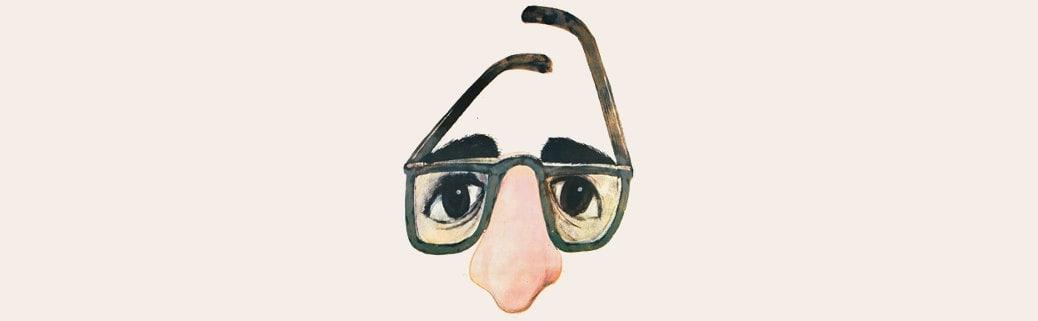zelig woody allen occhiali