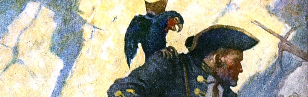 long john silver parrot