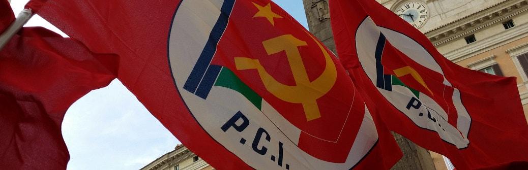 partito comunista bandiere