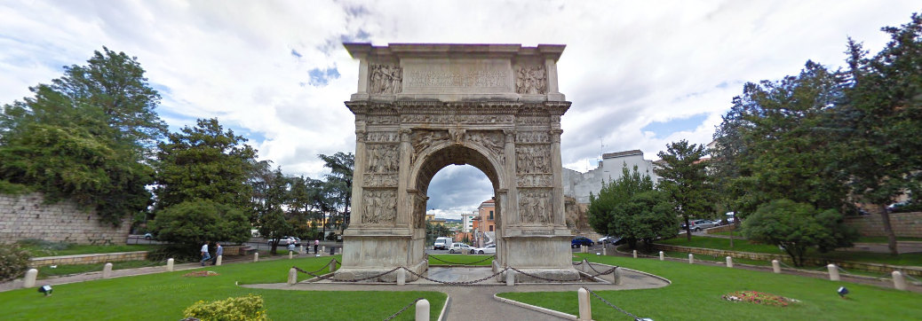 arco di traiano benevento