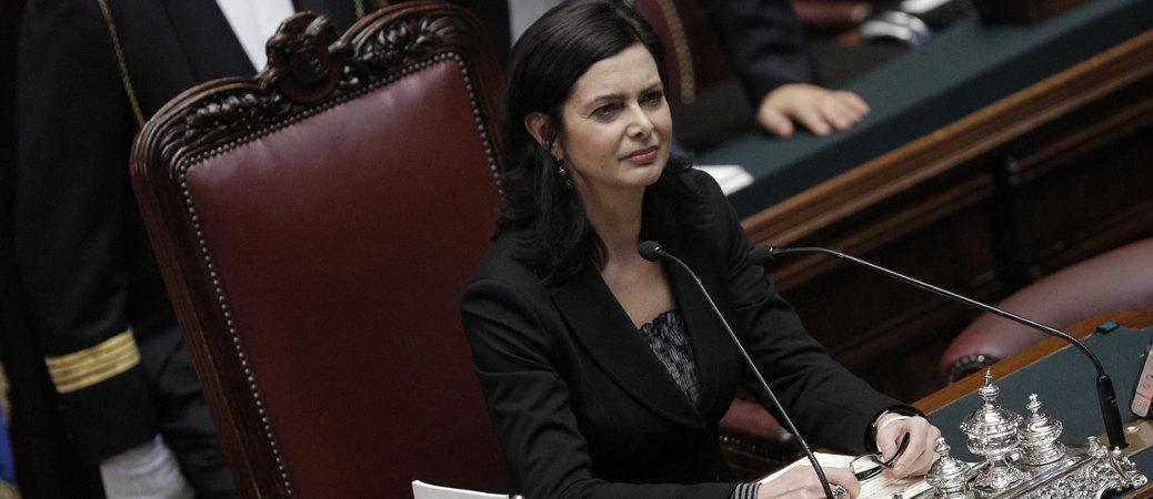 laura boldrini discorso presidente della camera dei deputati