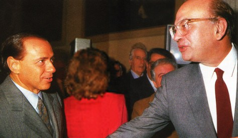 berlusconi silvio craxi bettino