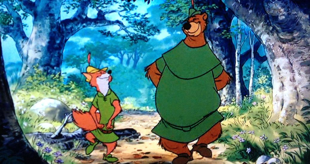Chi canta Robin Hood e Little John van per la foresta